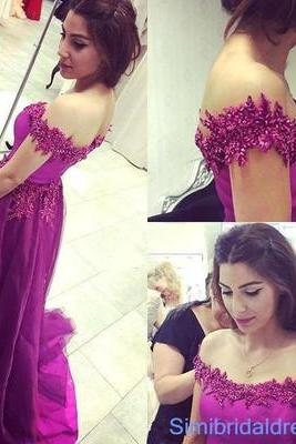 Charming Prom Dress,Off the Shoulder Prom Dress,Long Prom Dress,Evening Formal Dress