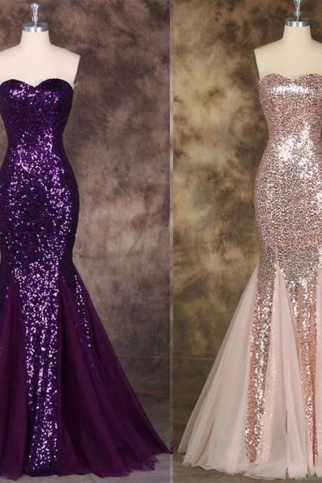 Sweetheart Mermaid Prom Dress,Long Prom Dresses,Charming Prom Dresses,Evening Dress Prom Gowns, Formal Women Dress,prom dress