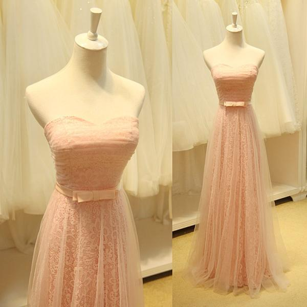 Charming Prom Dress,A Line Evening Dress,Sweetheart Prom Dresses,Bandage Back Long Evening Dress
