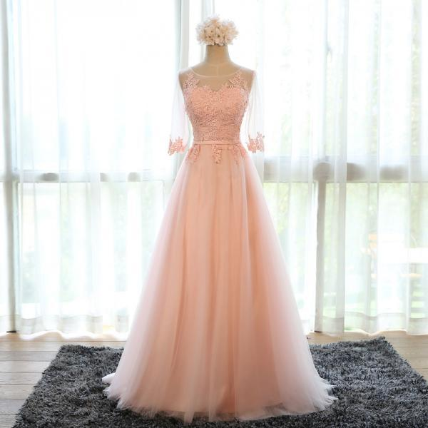 Charming Prom Dress,Long Prom Dress,Tulle Prom Dress,Evening Party Gown for Teens