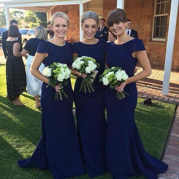 Long Sleeve Bridesmaid Dresses, Mermaid Long Bridesmaid Dress, Elegant Lace Bridesmaid Dress, Wedding Guest Dress, long bridesmaid dress, dress for wedding, wedding party dress, 20508Royal blue bridesmaid dress, simple short sleeve bridesmaid dress, cheap mermaid bridesmaid dreess, elegant simple bridesmaid dress, long bridesmaid dress
